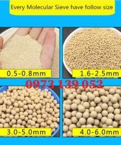 Hạt Zeolite dùng cho máy tạo khí oxy công nghiệp